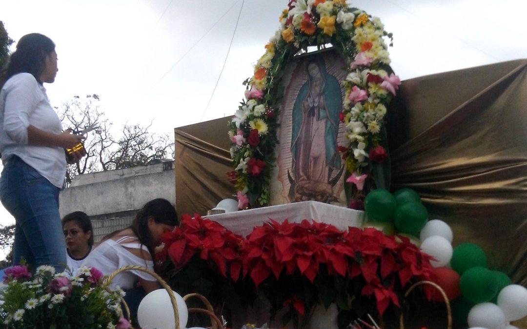 Peregrinación a la virgen de Guadalupe